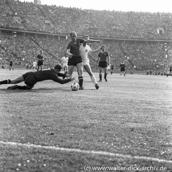 Endspiel gegen Nürnberg 1962