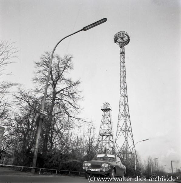 Fordturm und Bohrturm in Köln Deutz