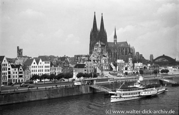 Wiederaufbau des Stadtpanoramas