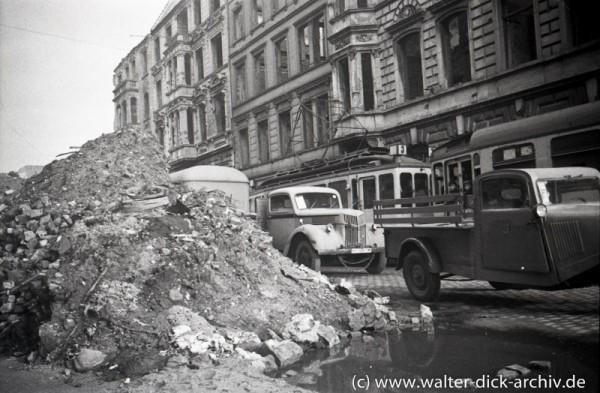 Ruinen und Trümmerschutt