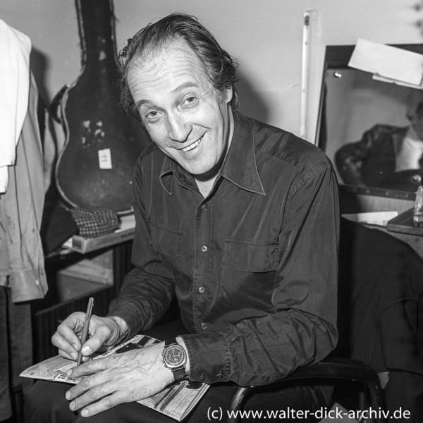 Ernst Stankovski beim Lottotip 1962