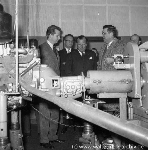 Prinzlicher Besuch in den Kölner Ford-Werken