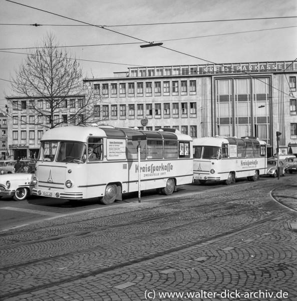 Kreissparkasse Köln - Fahrende Zweigstelle 1965