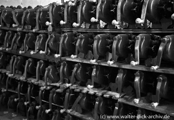 Entdeckung eines Schwarzmarktlagers 1948