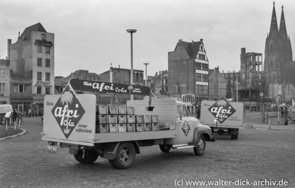 Werbefahrt für Afri Cola