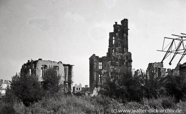 Ruine des Rathausturmes