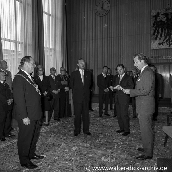 Prinzlicher Besuch in Köln