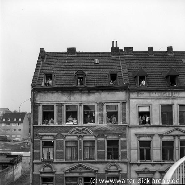 Logenplätze bei der Eröffnung der Kölner Severinsbrücke