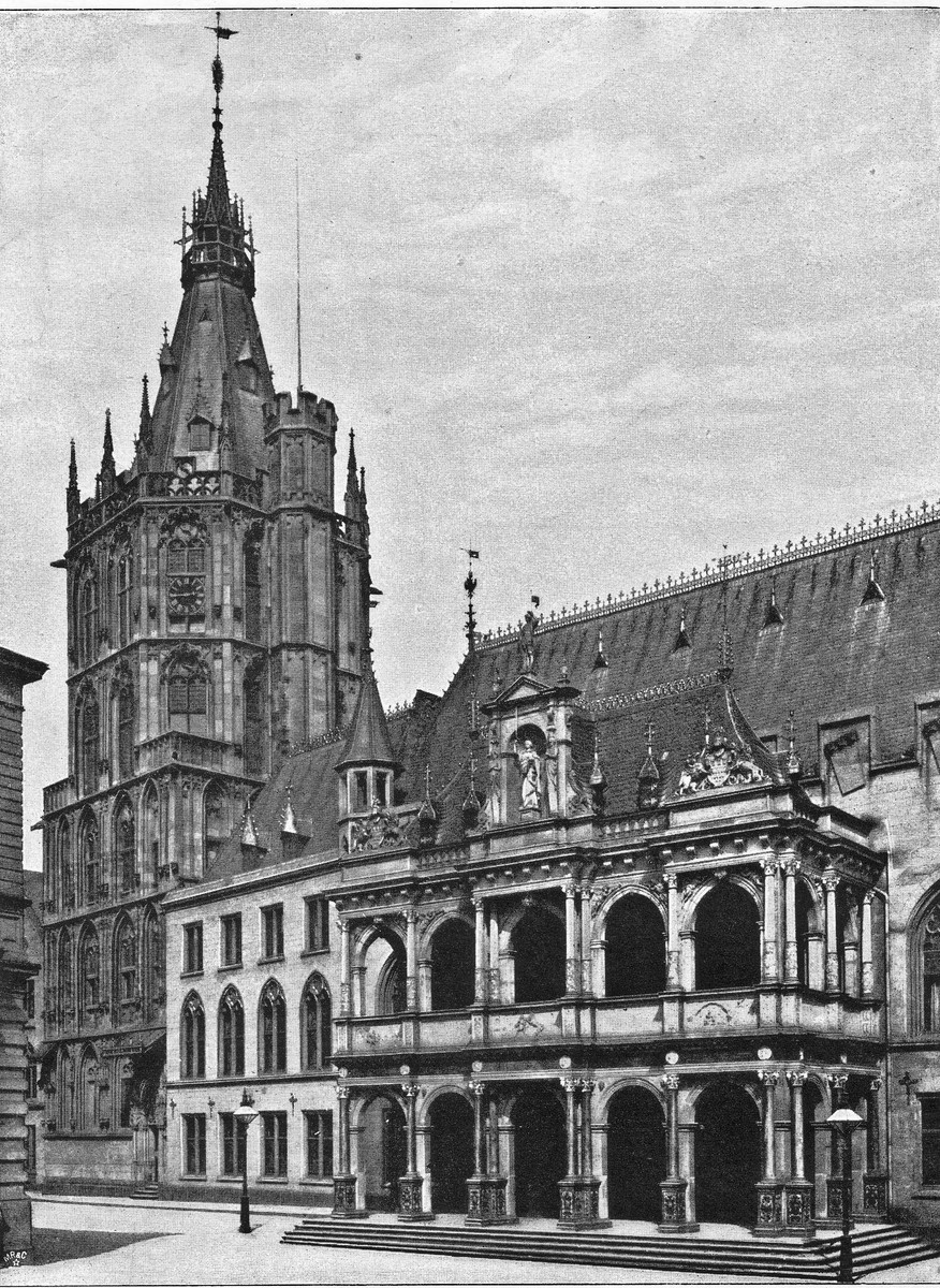100100-Rathausturm-Koln