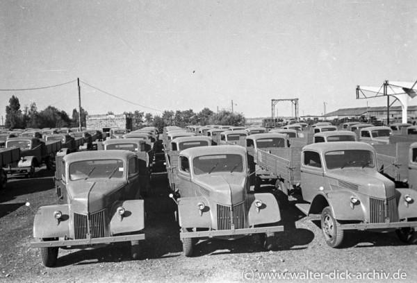 Lastkraftwagen von Ford Köln
