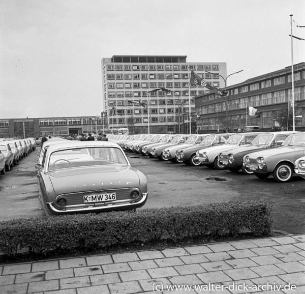 Präsentation der neuen Ford Modelle