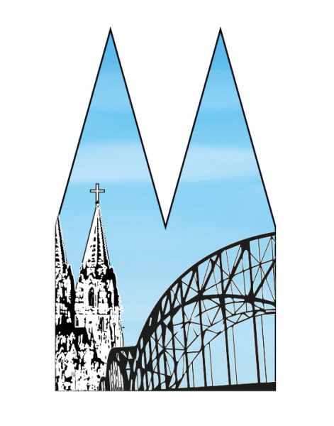 Dom Einsatz - Helmut Brands - Hohenzollernbrücke