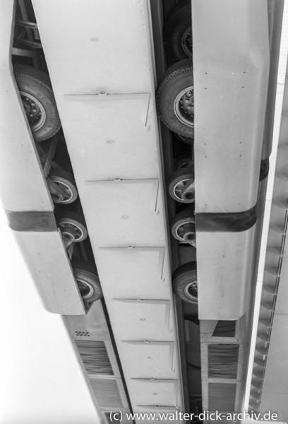ALWEG Bahn-Detailaufnahme 1957