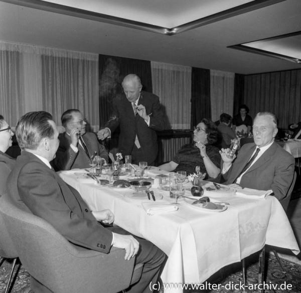 Direktorentreffen Kreissparkasse Köln 1965