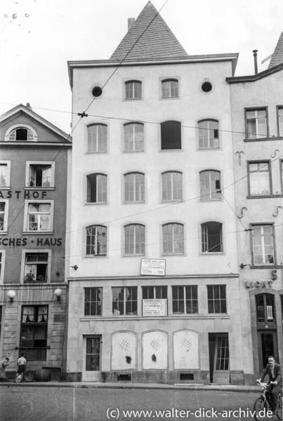 Renoviertes Haus in der Altstadt 1938