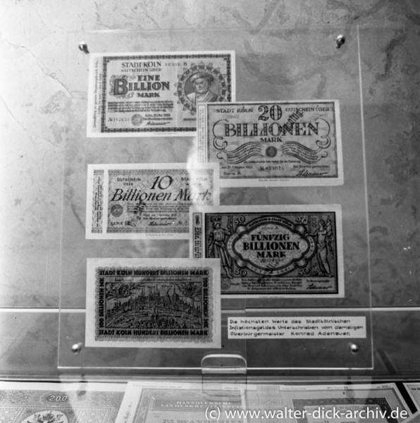 Kreissparkasse Köln 1962 - Geldgeschichtliche Ausstellung