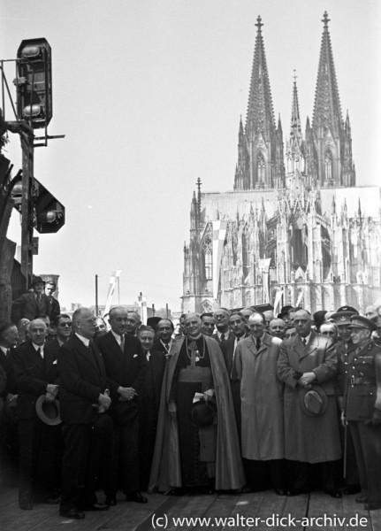 Wiedereröffnung der Hohenzollernbrücke