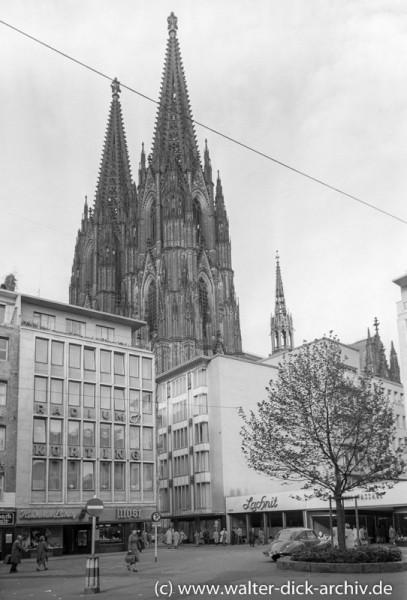 Der Wallrafplatz 1954