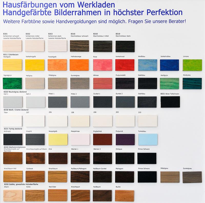 Farbung-Werkladen-Bilderrahmen