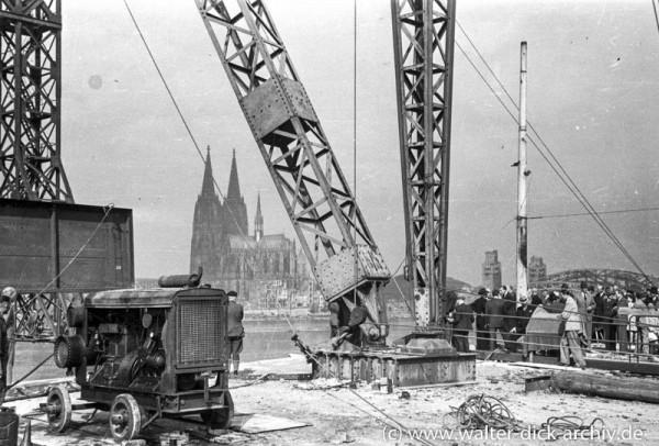 Zum Baubeginn der Deutzer Brücke