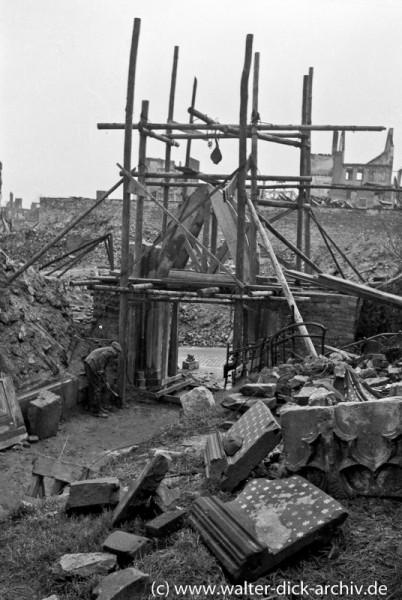 Wiederaufbau des Kölner Dreikönigenpförtchens