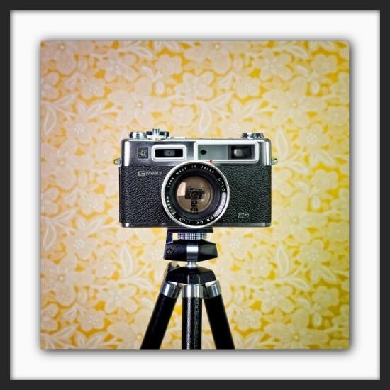 Cameraselfie Yashica Electro
