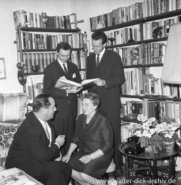 Theo Burauen mit Familie 1965
