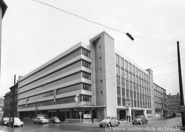 Parkhaus Maastrichter Straße 1962