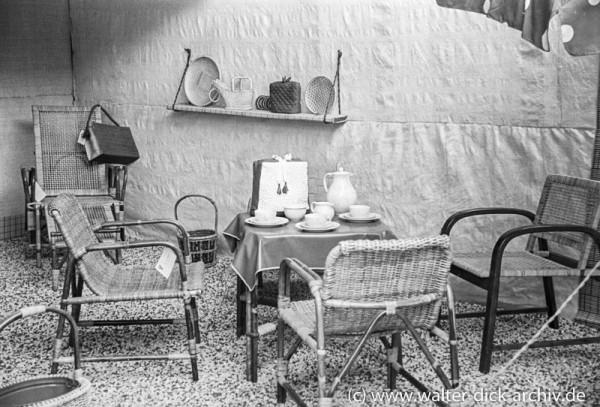 Kölner Werkbundausstellung 1949-Korbmöbel