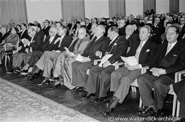 Festakt im Gürzenich 1955