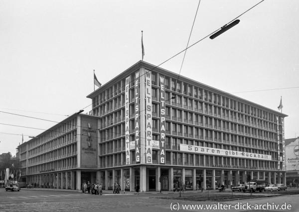 Zentrale der Sparkasse