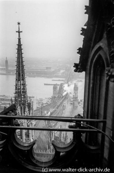 Blick vom Dom 1951
