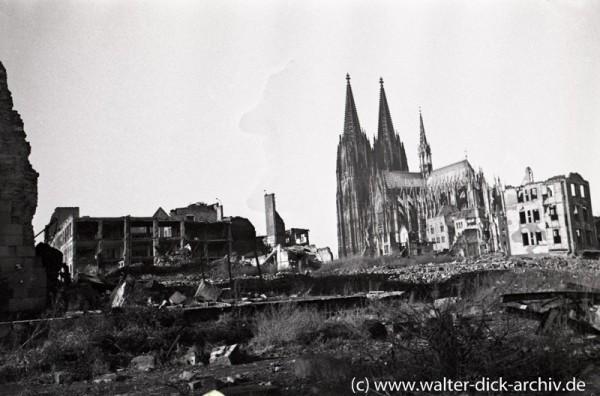 Zerstörte Altstadt