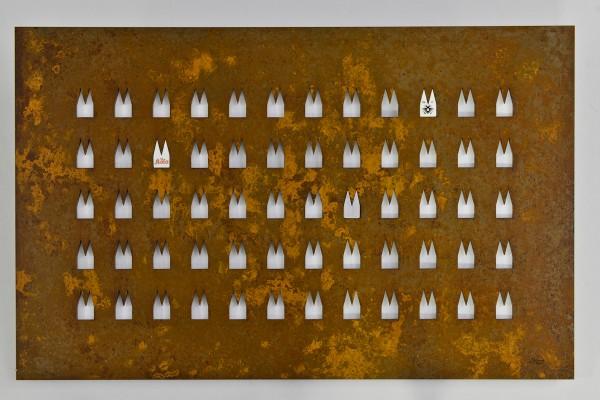Dom Stahlplatte - 60 Ausschnitte - Helmut Brands