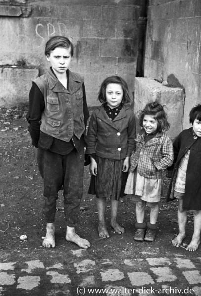 Vier Kölner Kinder