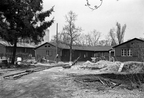 Zerstörungen und Wiederaufbau in der Lindenburg