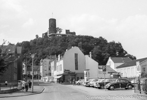 Blick auf die Godesburg 1965