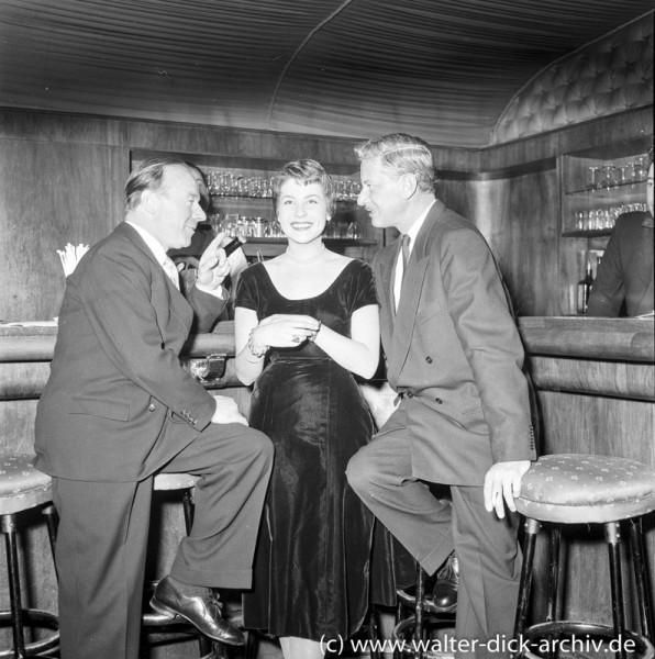 Filmprominenz im Gespräch 1954