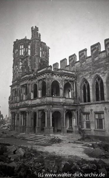 Ruine des Rathauses