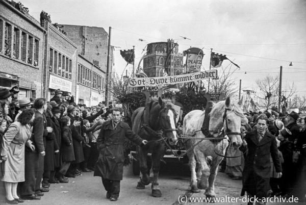 Rosenmontagszug1949
