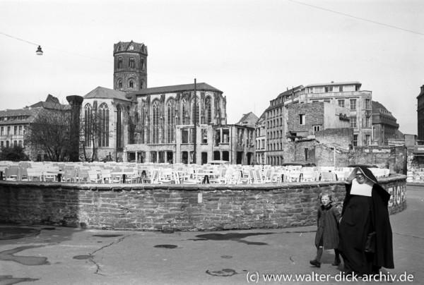 St. Andreas und Reichard-Terrasse 1951