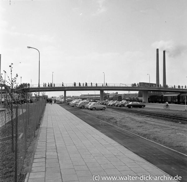 Henry Ford II Brücke in den Kölner Ford Werken