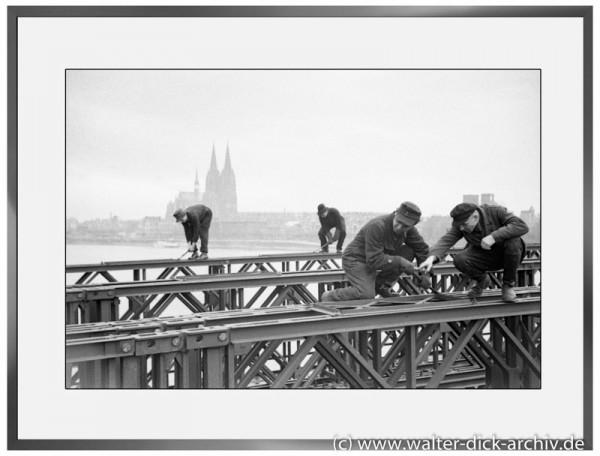 E01 - Bau der Pattonbrücke 1946