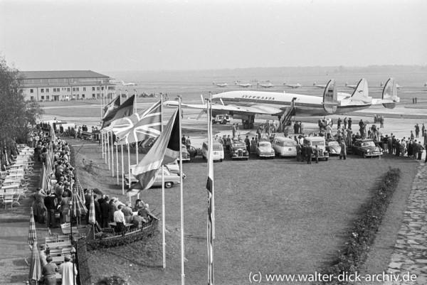 Konrad Adenauer reist von Köln nach Moskau 1955