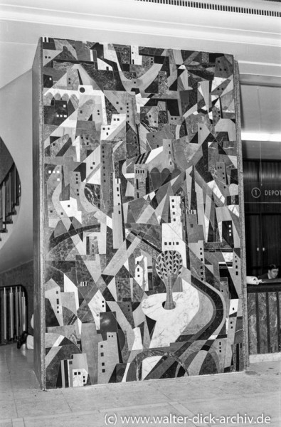 Stadtsparkasse Köln-Kunst am Bau 1955