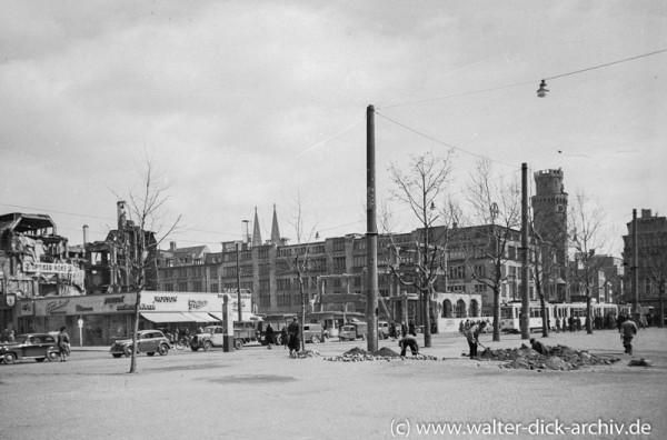 Blick vom Neumarkt Richtung Schildergasse