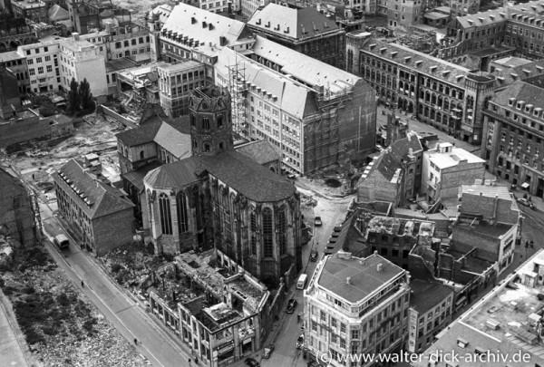Wiederaufbau von St. Andreas