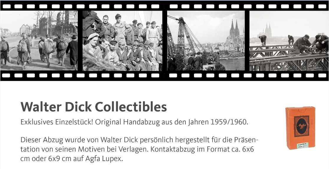 Walter-Dick-Collectibles-Handabzug-1960-Koln