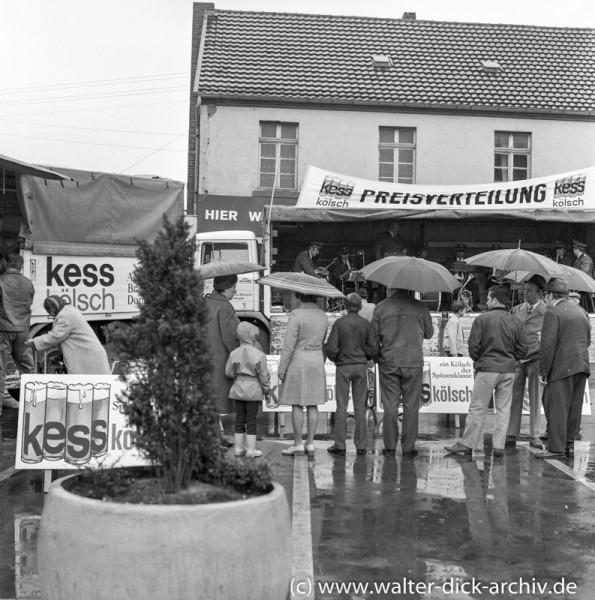 Werbemaßnahmen für KESS Kölsch 1969