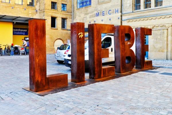 Liebe - Fototafel 17x12 cm